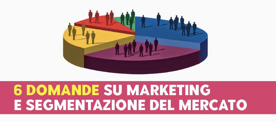 6 domande su marketing e segmentazione del mercato