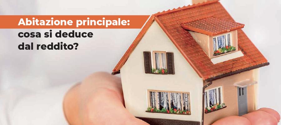 Abitazione principale e deduzioni dal reddito ai fini IRPEF