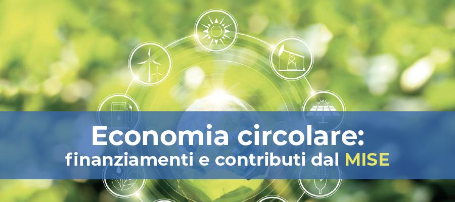 Agevolazioni e contributi per progetti di ricerca per l'economia circolare