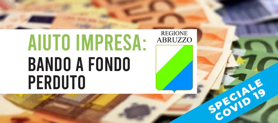 Aiuto Impresa: contributi a fondo perduto in Abruzzo