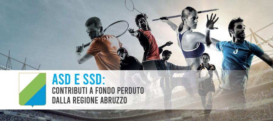 ASD e SSD: contributi a fondo perduto dalla Regione Abruzzo