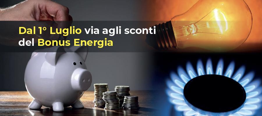 Bonus Energia 2021: sconto in fattura per elettricità, luce e gas