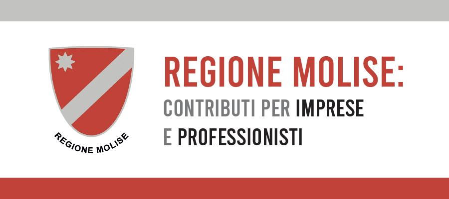 Contributi per imprese e professionisti della Regione Molise