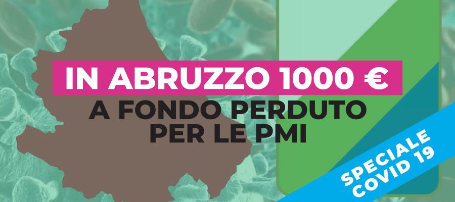 Contributo di 1000 euro a fondo perduto per le PMI