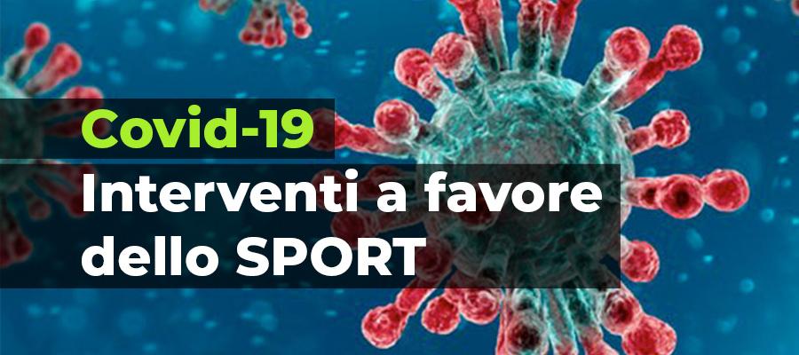 Covid-19 interventi a favore dello sport