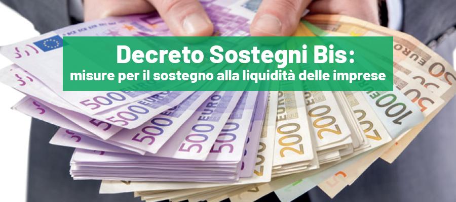 Decreto Sostegni Bis: misure per il sostegno alla liquidità delle imprese