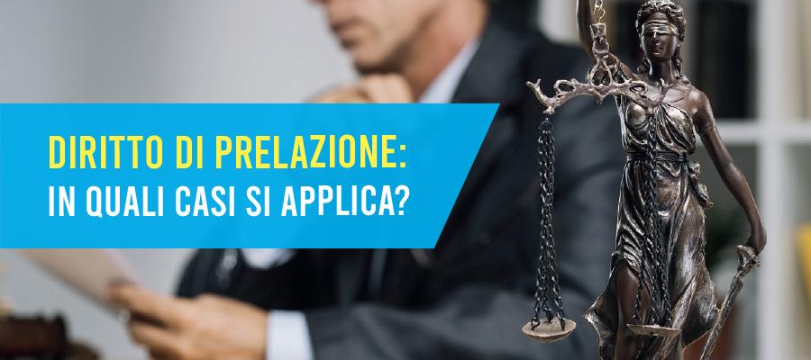 Diritto di prelazione: tutti gli ambiti di applicazione