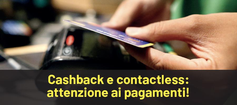 Extra cashback di natale: niente rimborso sui pagamenti contactless