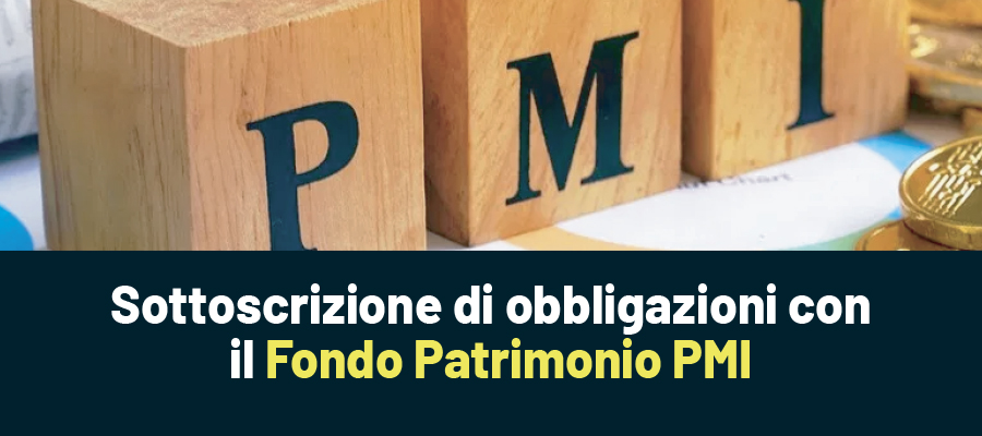 Fondo Patrimonio PMI: obbligazioni sottoscritte da Invitalia