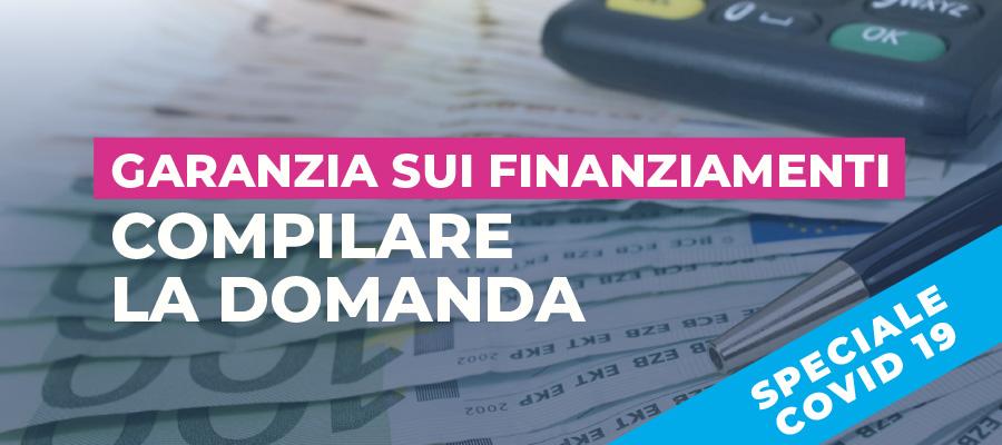 Garanzia sui finanziamenti: compilare la domanda