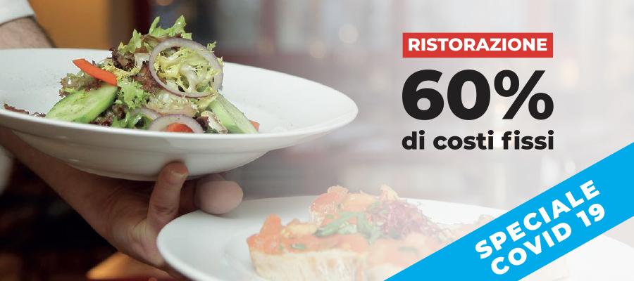 Il 60% dei costi di un ristoratore sono FISSI