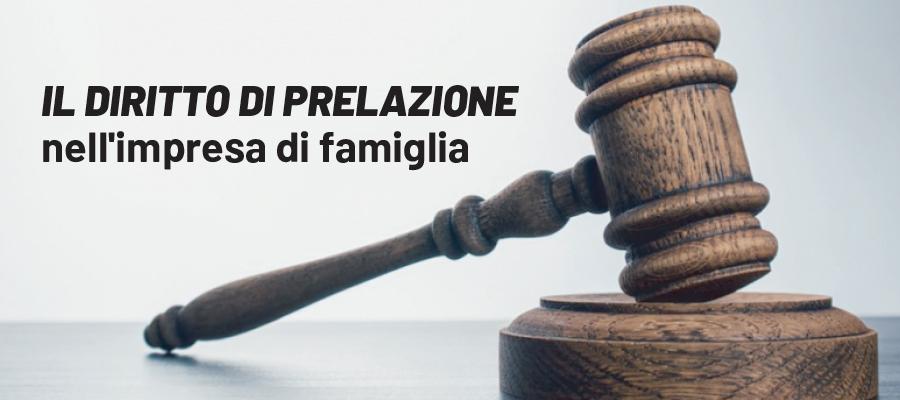 Il diritto di prelazione nell