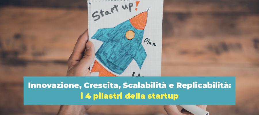Innovazione, Crescita, Scalabilità e Replicabilità: i 4 pilastri della startup