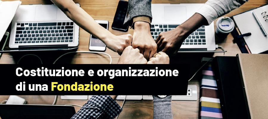 La Fondazione: cenni organizzativi e costituzione
