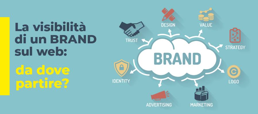La visibilità di un brand sul web: da dove partire?