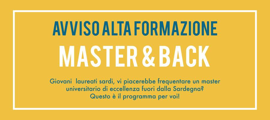 Master and Back: riportare cervelli in Sardegna