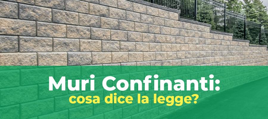 Muri Confinanti: cosa dice la legge?