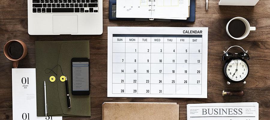 Novembre 2018: le principali scadenze