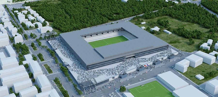 Nuovi campi di calcio: credito d