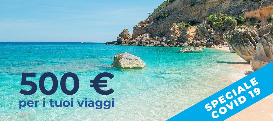 Ottieni uno sconto di 500 euro per i tuoi viaggi: il Bonus Vacanze