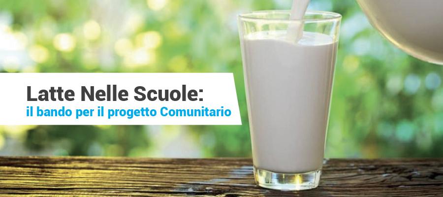 Progetto Latte Nelle Scuole: il bando per l