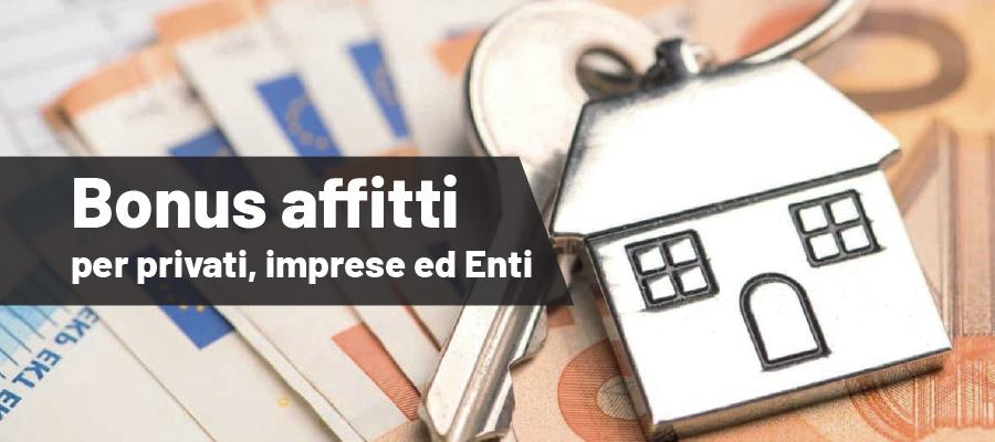 Riduzione dei contratti di locazione: contributi per privati, imprese ed Enti