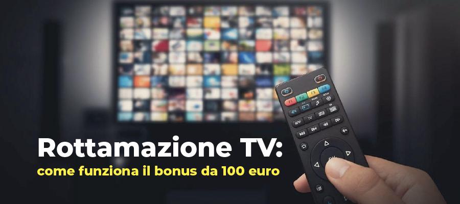 Rottamazione TV: come funziona il bonus da 100 euro