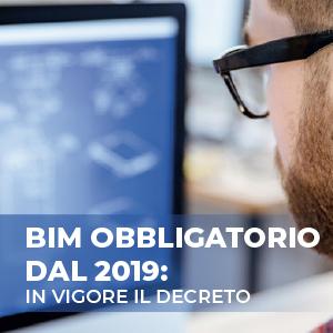 BIM obbligatorio dal 2019: in vigore il decreto