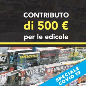 Bonus Edicole: un contributo una tantum di 500 euro