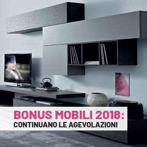 Bonus mobili 2018: continuano le agevolazioni