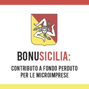 BonuSicilia: il bando della Regione Sicilia per le microimprese