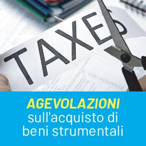 Credito d'imposta per gli investimenti in beni strumentali