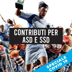Dal 15 giugno contributi per ASD/SSD