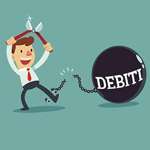 Dall'anno prossimo... più semplice cancellare i propri debiti