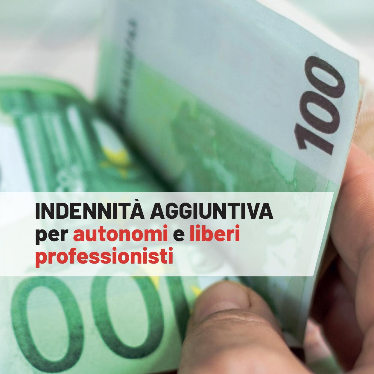Ex zona rossa: indennità aggiuntiva per i lavoratori autonomi