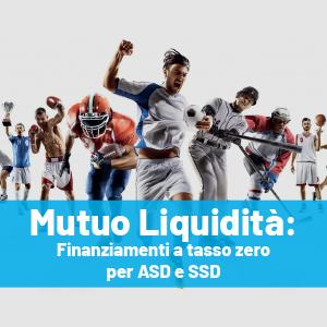 Fino a 30.000 euro a tasso zero per ASD e SSD