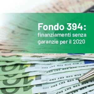 Fondo 394 per l'internazionalizzazione: nessuna garanzia richiesta