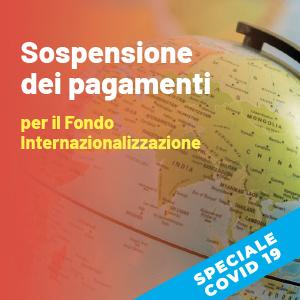 Fondo per l'Internazionalizzazione: sospesi i pagamenti