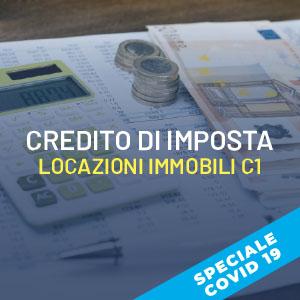 Il Credito di imposta sulle locazioni di immobili C/1
