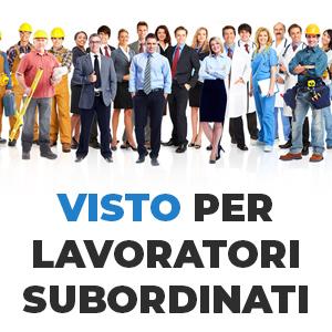 Lavorare in Italia con il visto per lavoratori subordinati