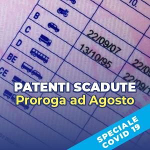 Patenti scadute, proroga ad agosto per il rinnovo. Ma non per tutti