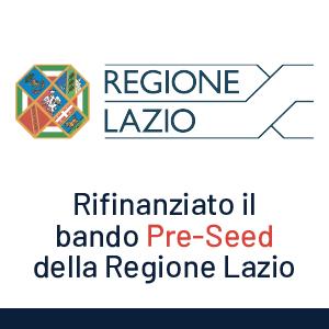 PreSeed: il bando della Regione Lazio per Startup Innovative