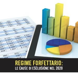Regime forfettario: le cause di esclusione aggiornate al 2020