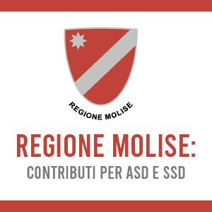 Regione Molise: contributi per ASD e SSD