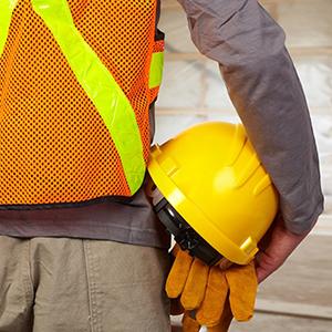 Sicurezza sul lavoro, l'abbigliamento nel cantiere edile