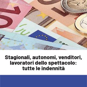 Stagionali del turismo, autonomi, venditori: tutte le indennità