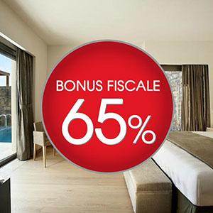 Strutture alberghiere: bonus fiscale del 65%
