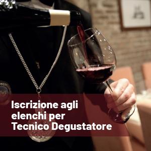 Tecnico Degustatore di vini DOC e DOCG: l'iscrizione agli elenchi